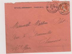 - Vosges - Vittel Cachet Vittel-Casino - Marcophilie (Lettres)