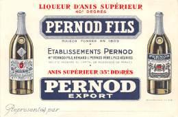 THEMES - PUBLICITE ALCOOL / Carte Illustrée - PERNOD Fils - Publicité