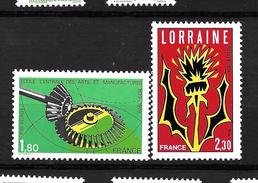 """France """" N°2065/66 ** - Unused Stamps"""