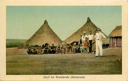 Ref U251- Cameroun - Carte Allemande - Allemagne - Dorf Im Granslande - Kamerun   - - Cameroun