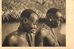 Ref U249-tchad - Femmes A Plateaux D Argent -dimensions De Cette Carte : 13cms X 9cms  - - Tchad