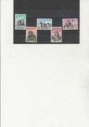 YEMEN - N°109 A 113 OBLITERE -ANNEE 1961 - Yémen