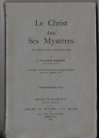 Le Christ Dans Ses Mysteres 1926 - Religion