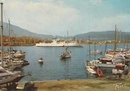 Corse - AJACCIO. - Le Port : Sortie De Bâteaux. Ed. A. Rion.Voyagée 1981 - Ajaccio
