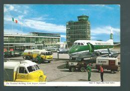 "CP (Av.) Vickers 808 ""Viscount"" Aer Lingus -  Aéport De Cork - Citernes D'avitaillement, Tracteur De Piste - 1946-....: Era Moderna"