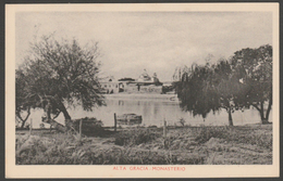 Monasterio, Alta Gracia, Cordoba, C.1910 - Ferro Carril Tarjeta Postal - Argentina