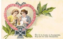 F Duits Leger Armee Allemende German Army Propaganda Patriotique - Guerre 1914-18