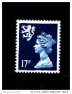 GREAT BRITAIN - 1990  SCOTLAND  17 P.  MINT NH   SG  S58 - Regionali