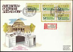 Germany Wiesbaden 1982 / Automaten Postwertzeichen / Automat Stamps - Distribuidores