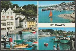 Multiview, St Mawes, Cornwall, 1967 - John Hinde Postcard - England