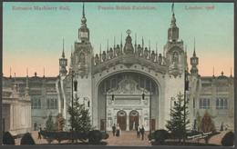Machinery Hall Entrance, Franco-British Exhibition, 1908 - Valentine's Postcard - Exhibitions