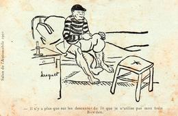 Publicité Frein BOWDEN - Salon De L'auto 1903 - Werbepostkarten