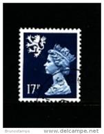 GREAT BRITAIN - 1990  SCOTLAND  17p. CB  FINE USED  SG S58 - Regionali