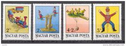 Hungary 1988 Mi. 3978 A -3981 A , Yvert 3177-3180 , Scott # 3142-3145 MNH - Hungary