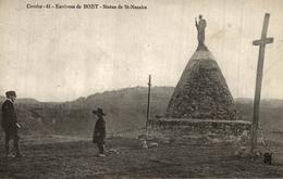 ENVIRONS DE BORT STATUE DE ST NAZAIRE - France