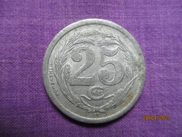 Algérie: 25 Centimes Chambre De Commerce D'Oran 1922 - Monétaires / De Nécessité