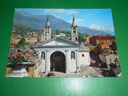 Cartolina Aosta - Cattedrale 1965 Ca - Italy