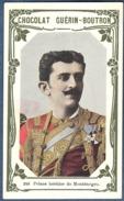 Chromo Chocolat Guerin-Boutron Livre D´or Célébrités Contemporaines 240 Prince Héritier De Monténégro - Guerin Boutron