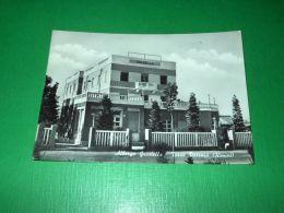 Cartolina Torre Pedrera - Albergo Graziella 1955 - Rimini