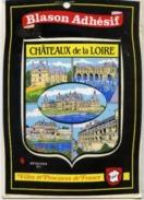 Blason Adhésif Chateaux De La Loire - Centre-Val De Loire