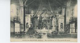 SAINT ESTEPHE - Maître Autel De L'Eglise Saint Etienne - Autres Communes