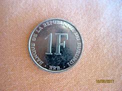 Burundi: 1 Franc 1990 - Burundi