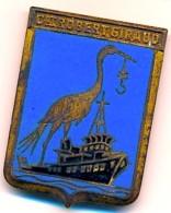Insigne Marine Aéronavale COMMANDANT ROBERT GIRAUD - Fabrication Arthus Bertrand - Marine