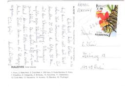 Maldiven - Maldives - Islands -  Nice Stamp - Maldiven