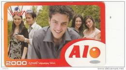 ARMENIA - People, VIVA Prepaid Card 2000 AMD, Exp.date 01/10/07, Used - Arménie