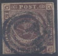 Danemark : N° 2 Oblitéré Année 1851 - Oblitérés