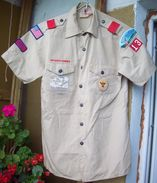 BSA US Scout Shirt - 9 Patches & Ranks - Scoutisme