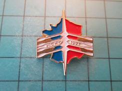 Pin1116b Pin's Pins / SPORT : AVIRON 1991 CHAMPIONNAT DE FRANCE VICHY Pas De Maréchal Ni De Milice ? , Belle Qualité !!! - Rowing