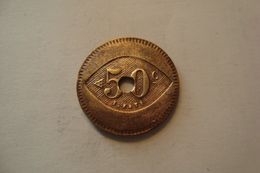 JETON  50 CENTIMES - Noodgeld