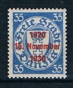Danzig Michel Nr. 226 Postfrisch Mit Falz - Dantzig