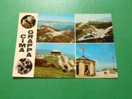 Cartolina Cima Grappa - Vedute Diverse 1970 - Treviso