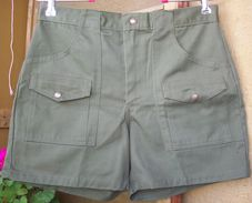 Vintage BSA US Scout Shorts Olive - Scoutismo