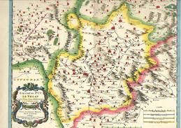 Vieux Pays De France Carte De Blaev Le Velay éditée Par Marinier En 1939 - Historische Documenten