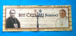POPE JOHN PAUL II - Visit Croatiia 1998. Ticket * Pape Papst Papa Paus Karol Wojtyla Jean Juan Pablo Christianity - Religion & Esotericism