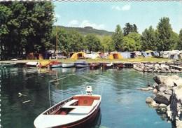 LE CAMPING ET LE SIGNAL DE BOUGY/ROLLE (dil297) - Suisse