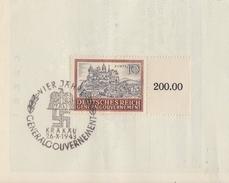 GG Briefstück Minr.116 SR ESST Krakau 4 Jahre GG - Besetzungen 1938-45