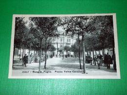 Cartolina Ruvo Di Puglia - Piazza Felice Cavallotti 1920 Ca - Bari