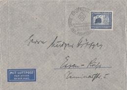 DR Luftpostbrief EF Minr.669 SST Stuttgart - Briefe U. Dokumente