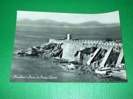 Cartolina Piombino - Punta Di Piazza Bovio 1956 - Livorno
