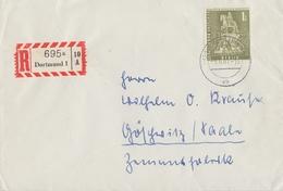 Berlin R-Brief EF Minr.153 Dortmund 5.6.61 - Briefe U. Dokumente
