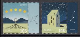 Iceland MNH 2009 Scott #1169-#1170 Set Of 2 International Year Of Astronomy  EUROPA - Nuevos