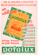PO Po/Buvard   Potage Potalux  (N= 1) - Potages & Sauces