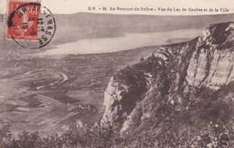 AU SOMMET DU SALEVE VUE DU LAC DE GENEVE ET DE LA VILLE (dil297) - Suisse