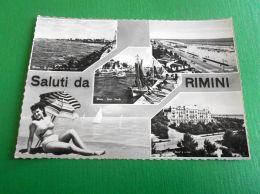 Cartolina Saluti Da Rimini - Vedute Diverse 1956 - Rimini