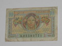 10 Francs 1947 - Trésor Francais - Territoires Occupés  **** EN ACHAT IMMEDIAT **** - Treasury