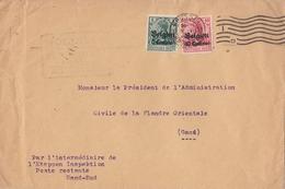 Dt. Post In Belgien Brief Mif Minr.2,3 Brüssel Ansehen !!!!!!!!!!!! - Occupation 1914-18